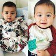 Maria Dolores dos Santos Aveiro, la maman de Cristiano Ronaldo, publie une photo de ses petits-enfants, Eva, Mateo. Instagram, le 25 janvier 2018.