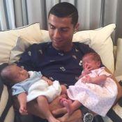 Cristiano Ronaldo : Ses jumeaux Eva et Mateo, 7 mois, ont sacrément grandi