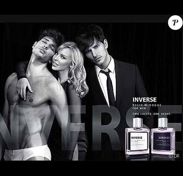 Kylie Minogue et son homme, très sensuels pour le nouveau parfum de la belle...
