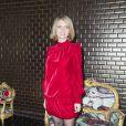 Sylvie Tellier au défilé de mode Jean Paul Gaultier, collection haute couture printemps-été 2018, à Paris. Le 24 janvier 2018 © Olivier Borde / Bestimage