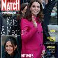"""Couverture du """"Paris Match"""" en kiosques le 1er février 2018"""