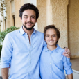 Le prince Hussein de Jordanie et son frère le prince Hashem, photo Instagram pour les 13 ans de Hashem le 30 janvier 2018.