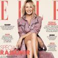 """Couverture du magazine """"ELLE"""" en kiosques le 2 février 2018."""