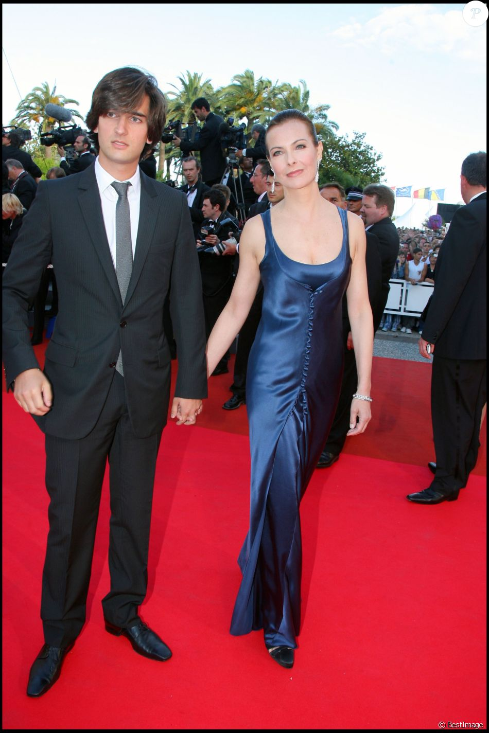 carole bouquet et dimitri rassam cannes en 2007 purepeople. Black Bedroom Furniture Sets. Home Design Ideas