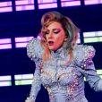 Lady Gaga en concert à Birmingham le 21 janvier 2018.