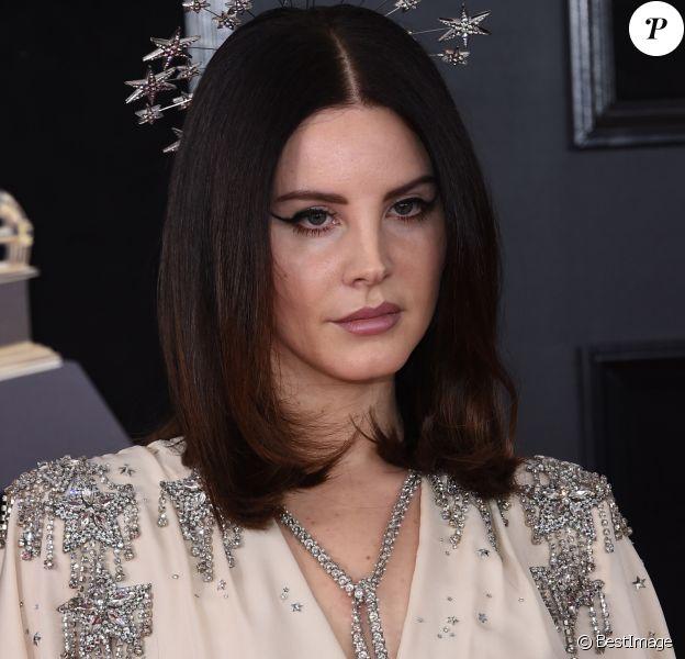 Lana Del Rey à la 60ème soirée annuelle des Grammy Awards à Madison Square Garden à New York, le 28 janvier 2018 © Chris Delmas/Bestimage