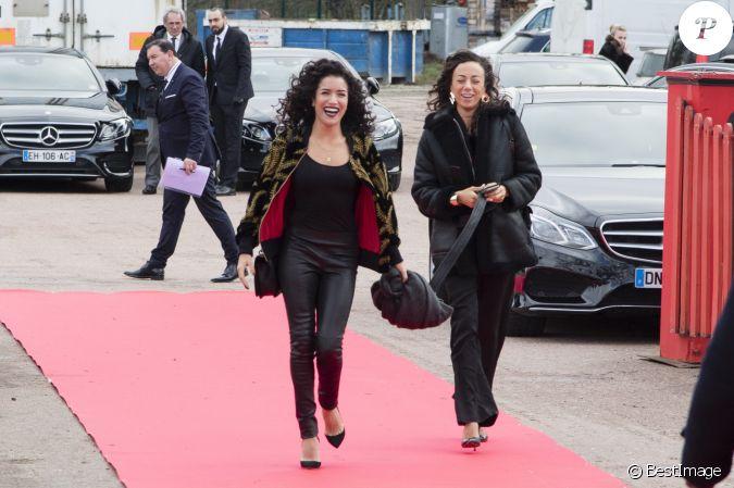 sabrina ouazani janane boudili c r monie de remise de prix du 39 me festival mondial du. Black Bedroom Furniture Sets. Home Design Ideas