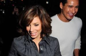Quand Eva Longoria fête son anniversaire avec... son ex ! Il est bien cool son Tony de mari...
