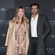 Caroline Receveur : 1er tapis rouge enceinte avec son chéri Hugo pour 50 Shades