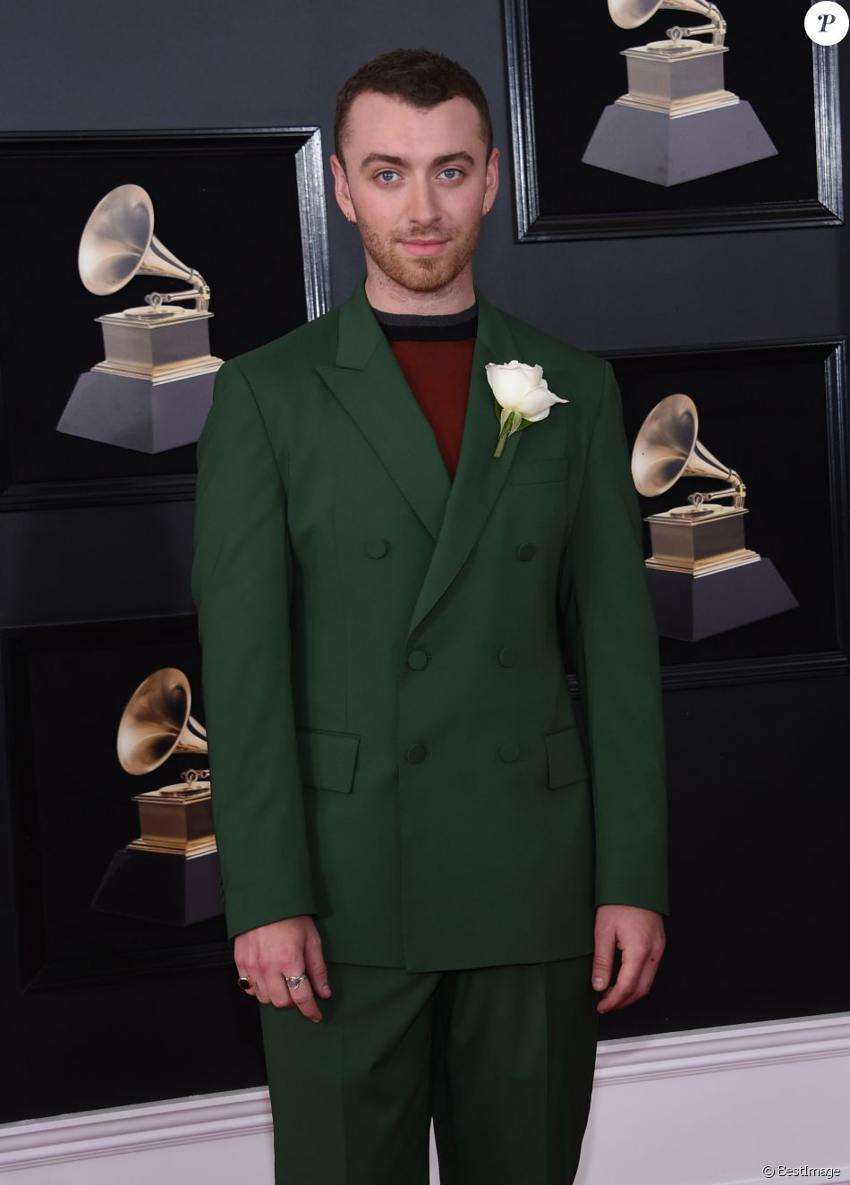 Sam Smith La 60 Me Soir E Annuelle Des Grammy Awards Madison Square Garden New York Le 28
