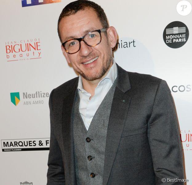 Dany Boon - 25ème édition des Trophées du Film Français 2018 au Palais Brongniart à Paris, le 6 février 2018.