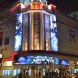 """Illustration de la façade du cinéma Grand Rex - Projection du nouveau Marvel """"Black Panther"""" au cinéma Grand Rex à Paris, France, le 7 février 2018. © Gorassini-Guirec/Bestimage"""
