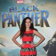 "Cerise Calixte - Projection du nouveau Marvel ""Black Panther"" au cinéma Grand Rex à Paris, France, le 7 février 2018. © Gorassini-Guirec/Bestimage"