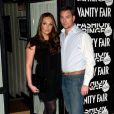 Tamara Ecclecstone avec un beau jeune homme à la soirée de lancement du Fashion Fringe 2009, à Londres