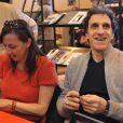 Shirley et Dino au Salon du Livre. 17/03/09
