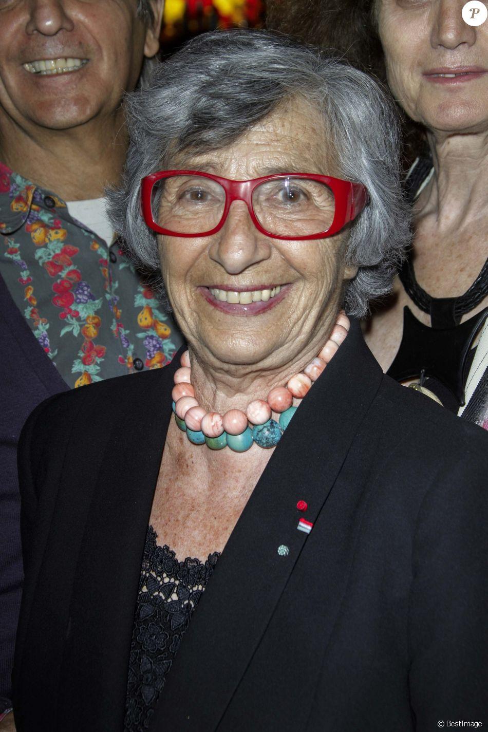 Exclusif - Françoise Xenakis - Dîner avec les membres du comité d'honneur de l'ADMD (l'Association pour le Droit de Mourir dans la Dignité) au Buddha Bar à Paris le 17 juin 2014.