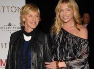 Ellen DeGeneres reçoit sa femme Portia de Rossi dans son show et célèbre leurs 7 mois de mariage ! Regardez !