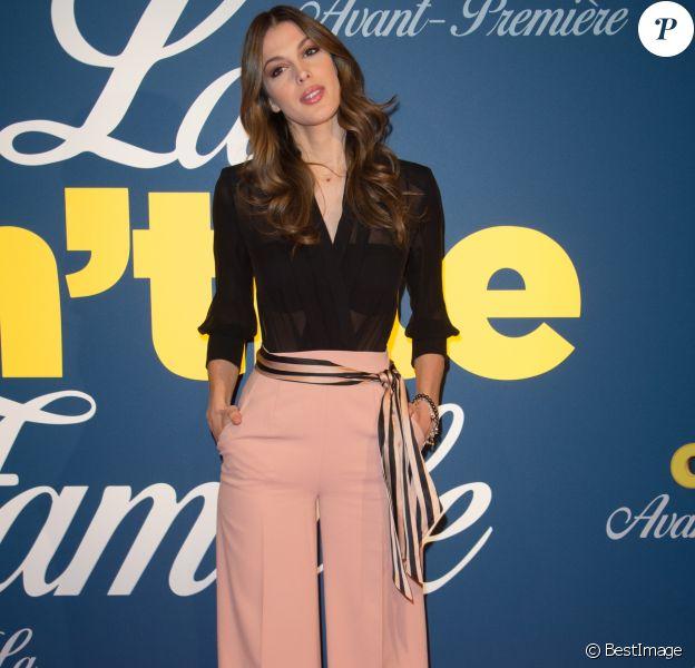 """Iris Mittenaere (Miss France et Univers 2016) à la première de """"La Ch'tite Famille"""" au cinéma Gaumont-Opéra à Paris, le 14 février 2018. © Guirec Coadic/Bestimage"""