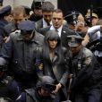 """Angelina Jolie arrêtée par la police, lors du tournage d'une scène de """"Salt"""", à New York, en mars 2009 !"""