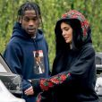 Exclusif - Travis Scott et Kylie Jenner à Los Angeles le 31 mai 2017.