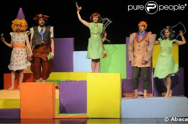 L'Ecume des jours version Isabelle de la Boulay, sur la scène du Théâtre Dejazet, début mars 2009