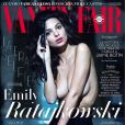 Emily Ratajkowski en couverture de Vanity Fair España. Février 2018.