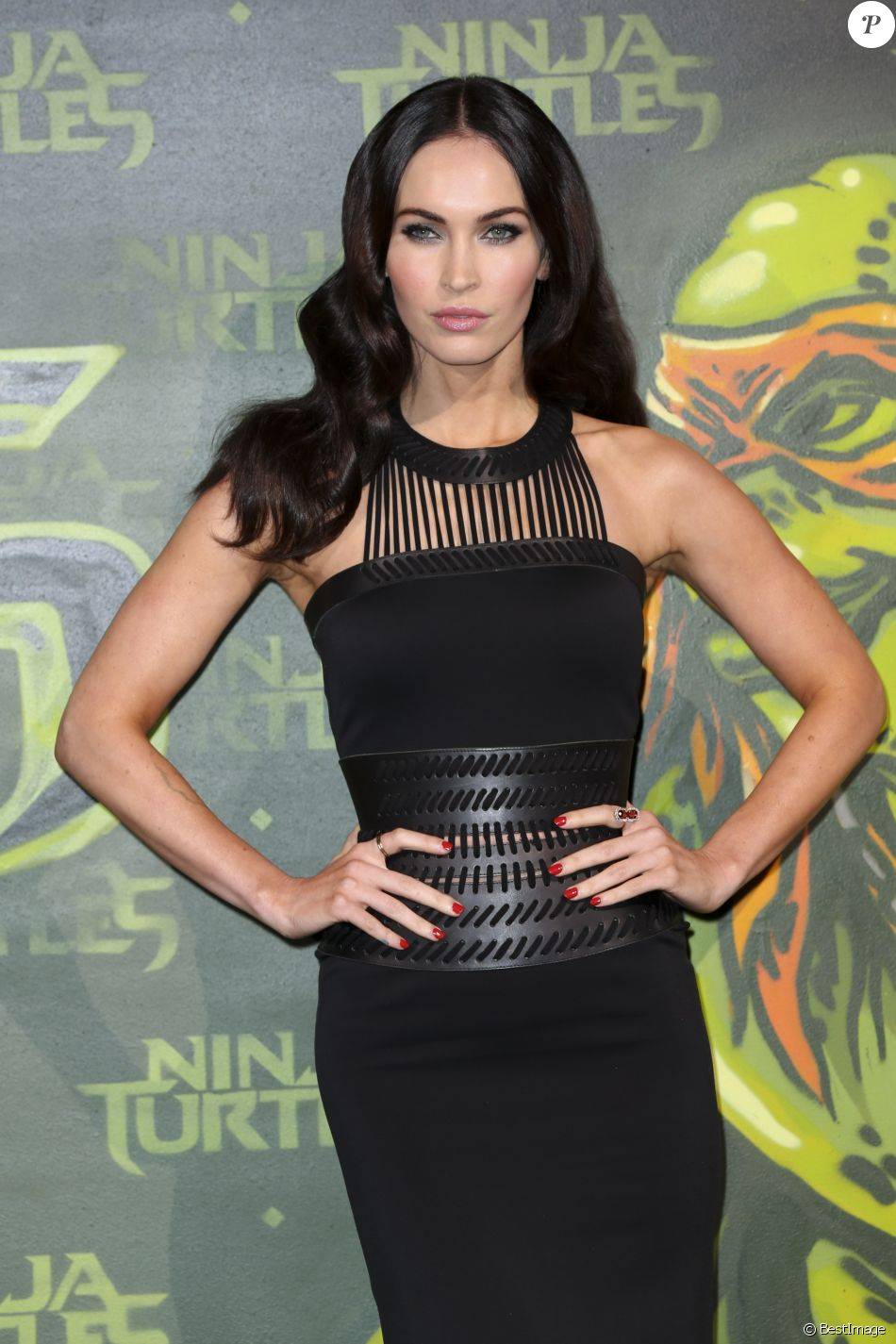 "Megan Fox - Première du film ""Teenage Mutant Ninja Turtles"" à Berlin, le 5 octobre 2014."