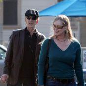 """Patrick Swayze, ravagé par son cancer, profite des petits plaisirs d'une vie """"normale"""" avec sa femme..."""