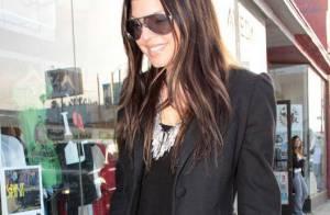 Fergie : toujours brune, elle persiste et signe avec... le look ethnique !