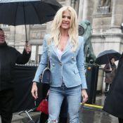 Fashion Week : Victoria Silvstedt, modeuse sexy pour Balmain
