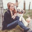 Maëva Coucke et son chien disparu, une publication datant du 1er mars 2018.
