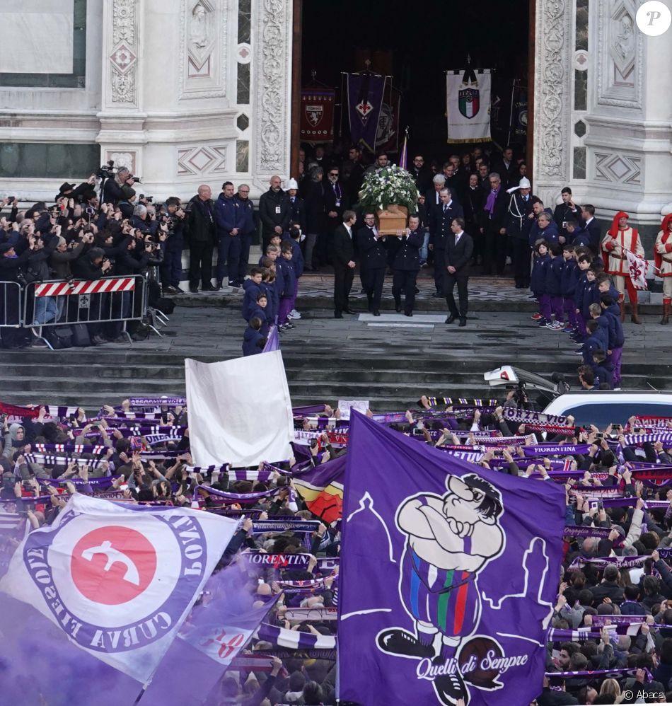 Funérailles de Davide Astori à Florence le 3 mars 2018.
