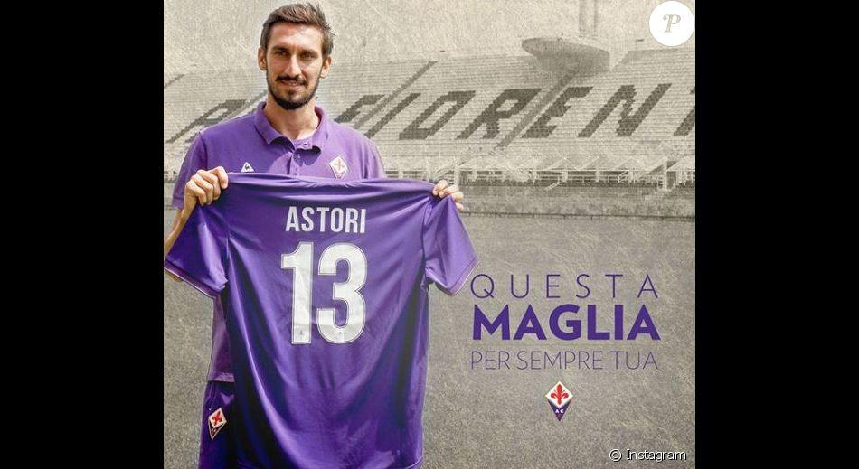 Le club de la Fiorentina rend hommage à Davide Astori après sa mort. Instagram, mars 2018.
