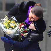 Victoria de Suède: La princesse Estelle, exemptée d'école, joue les assistantes