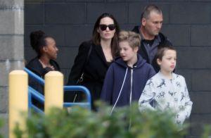 Angelina Jolie : Au cinéma avec ses enfants pour découvrir... Tomb Raider ?