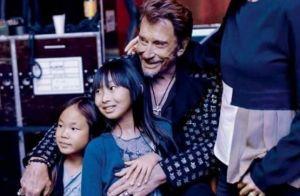 """Jade et Joy Hallyday, en deuil, réclament leur papa Johnny """"juste cinq minutes"""""""