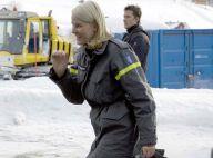 La princesse Mette-Marit de Norvège : après le voyage au soleil, les grandes manoeuvres dans la neige !