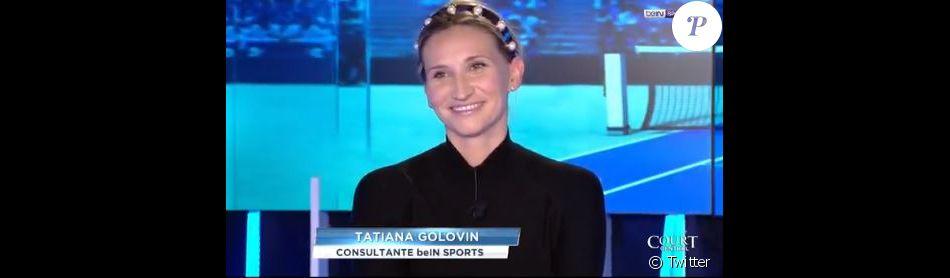 Tatiana golovin maman le pr nom de son fils r v l 4 mois apr s l 39 accouchement purepeople - Retour de couche apres accouchement ...
