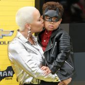 Amber Rose : Son fils de 5 ans victime d'homophobie, sa puissante contre-attaque