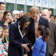 Le prince Harry et Meghan Markle à Birmingham le 8 mars 2018.