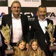 Santiago Cañizares (ici avec ses filles Martina et India en janvier 2018) et sa femme Mayte ont eu à affronter le 23 mars 2018 la mort, à 5 ans seulement, de leur fils Santi, l'un de leurs triplés avec Martina et India. Photo Instagram.