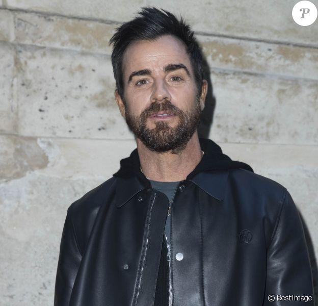 Justin Theroux - Photocall du défilé de mode PAP Femme automne-hiver 2018/2019 «Louis Vuitton» à Paris le 6 mars 2018 © Olivier Borde / Bestimage