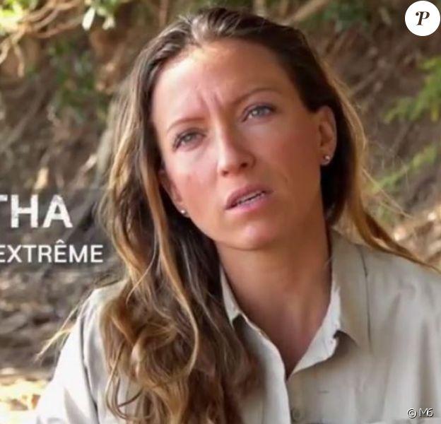 """Samantha, candidate du jeu d'aventures """"Wild"""" de M6."""