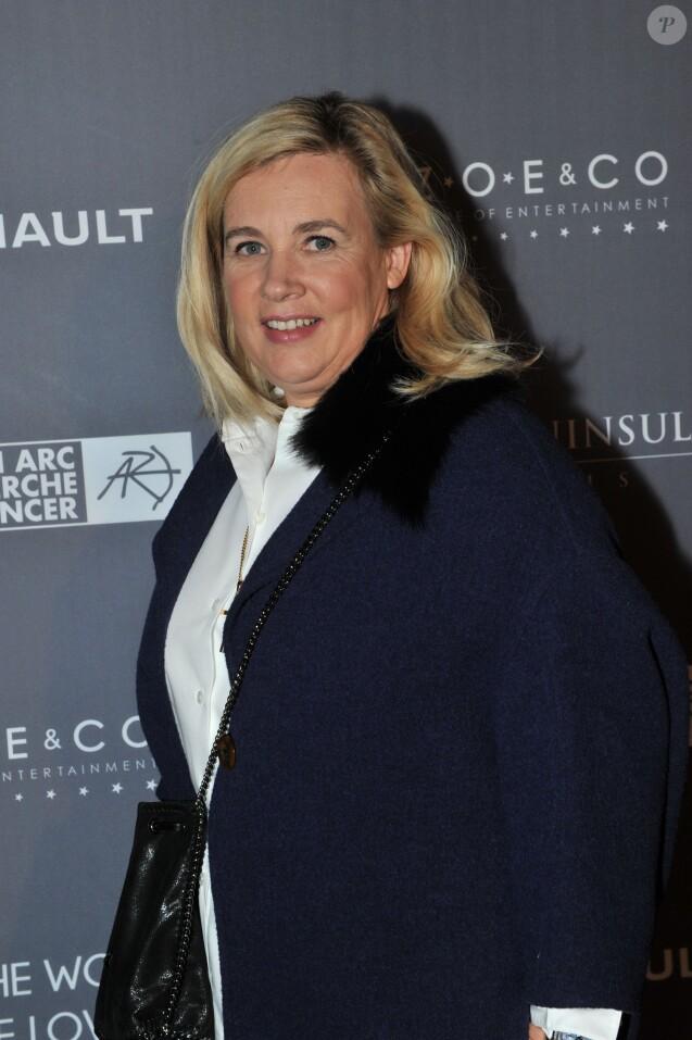 Exclusif - Hélène Darroze - Dîner de gala au profit de la Fondation ARC pour la recherche contre le cancer du sein à l'hôtel Peninsula à Paris le 1er octobre 2015.