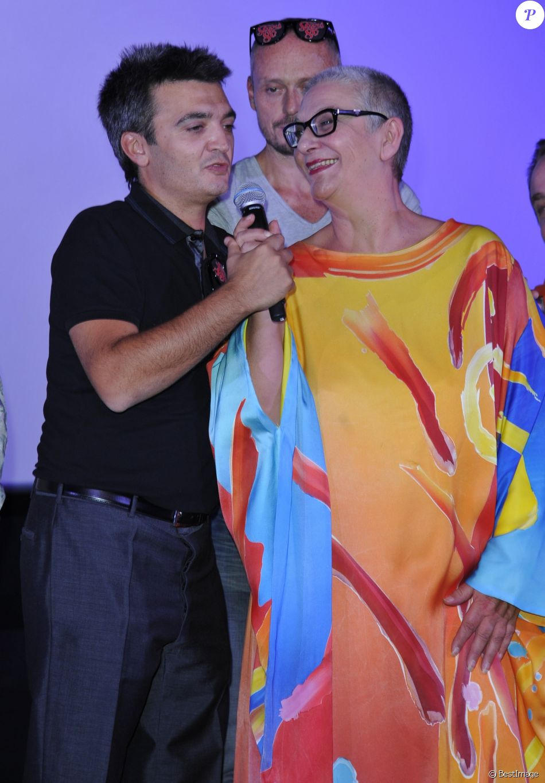 "Thomas Langmann, Desireless - Avant-premiere du film ""Stars 80"" a l'UGC de Lyon, le 28 septembre 2012."