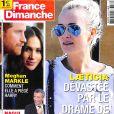"""Couverture du magazine """"France Dimanche"""", numéro du 6 avril 2018."""