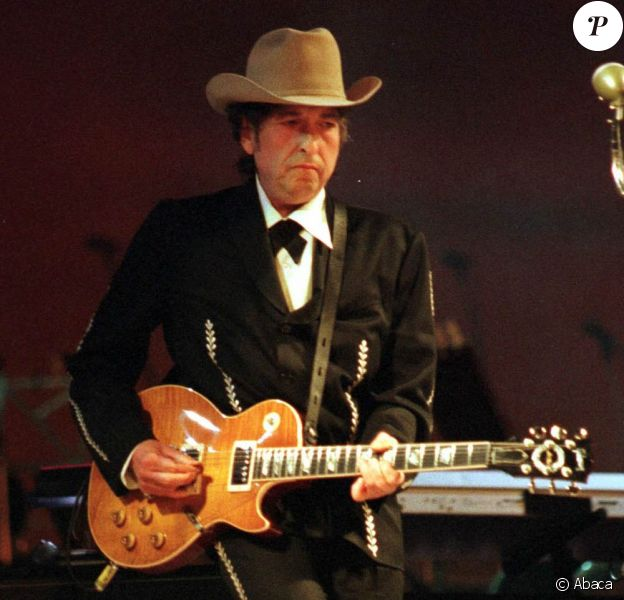 Bob Dylan en concert à Bologne en 1997