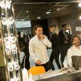 """Exclusif - Michaël Youn en loge lors de l'enregistrement de l'émission """"Les Enfoirés Kids"""" au Zénith d'Aix le 19 novembre 2017 © Cyril Moreau / Bestimage"""