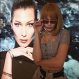 Bella Hadid. Avril 2018.