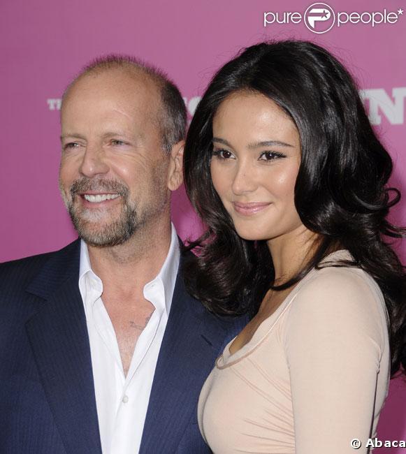 Bruce Willis et Emma Heming en août 2008